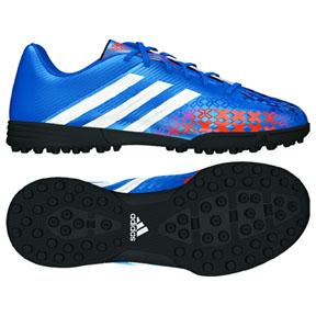 adidas Youth Predito LZ TRX Turf Soccer Shoes (Pride Blue)