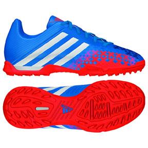 adidas Youth Predator Absolado LZ TRX Turf Soccer Shoes (Blue)
