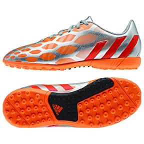 adidas Womens Predito Instinct Turf Soccer Shoes (Silver/Orange ...