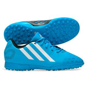 adidas Youth FreeFootball X-ITE Turf Soccer Shoes (Solar Blue)