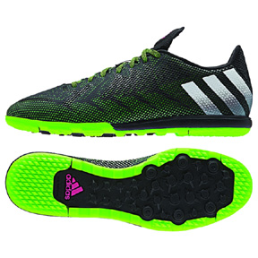 adidas  ACE 16.1 Cage Turf (Black/Neon Green)