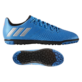 adidas Youth  Lionel Messi 16.3 Turf (Shock Blue)