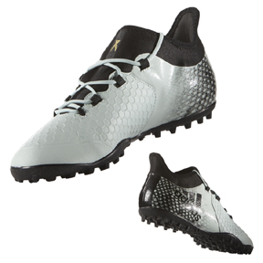 adidas  X 16.2 Cage Turf Soccer Shoes (Vapor Green/Black)
