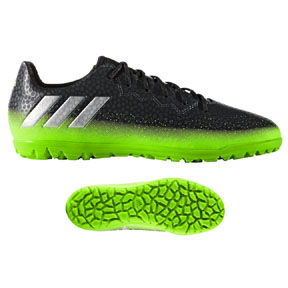 adidas Youth  Lionel Messi 16.3 Turf Soccer Shoes (Space Dust)