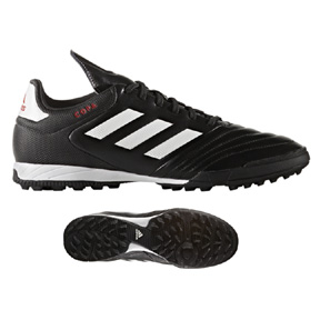 adidas  Copa 17.3 Turf Soccer Shoes (Black/White)