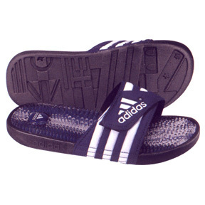 adidas Santiossage Soccer Sandal / Slide (Navy & Royal)