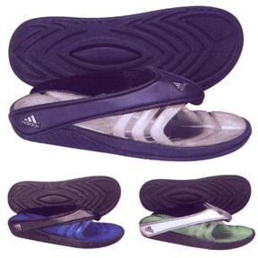 adidas Engiossage Soccer Sandal / Slide (Navy/White)