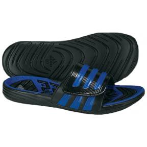 adidas Predecessor Soccer Sandal / Slide (Black/Blue)
