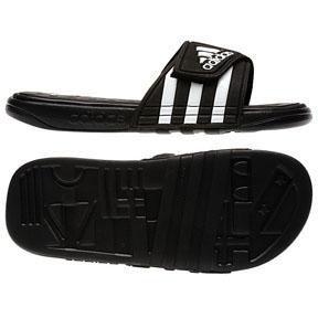 adidas adissage SUPERCLOUD+ Soccer Sandal / Slide (Black)