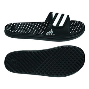adidas Calissage II ZTF Soccer Sandal / Slide (Black/White)