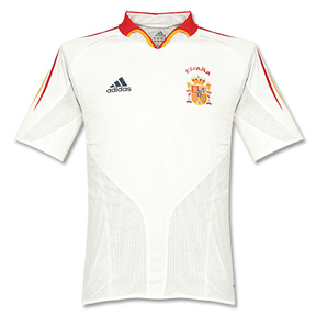 adidas Spain Soccer Jersey (Away 2004)
