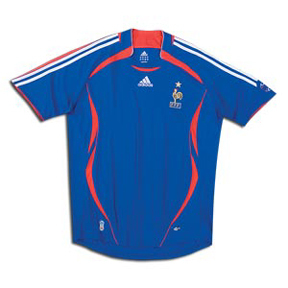 adidas France Soccer Jersey (Home 2006)