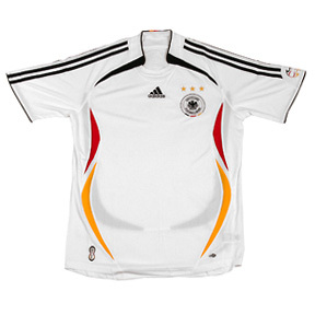Adidas germany soccer jersey home 2006 soccerevolution for Unique home stays jersey