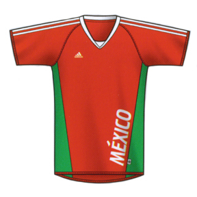 adidas Mexico World Cup 2006 Soccer Jersey