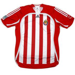 adidas Club Deportivo Chivas MLS Soccer Jersey (Home 2007)