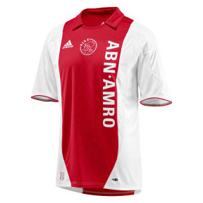 Adidas Ajax Amsterdam Soccer Jersey (Home 2007/08 ...