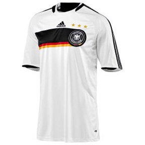 Adidas Germany Soccer Jersey (Home 2008/09)