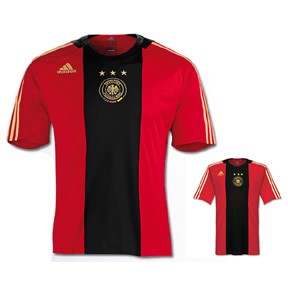 Adidas  Germany Soccer Jersey (Away 2008/09)