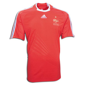 adidas France Soccer Jersey (Away 08/09)