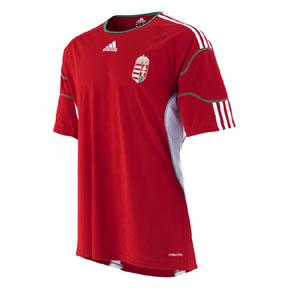 Adidas  Hungary Soccer Jersey (Home 2010/11)