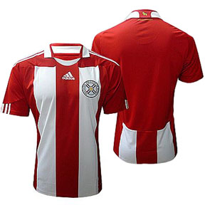 adidas Paraguay Soccer Jersey (Home 10/11)