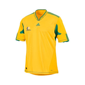 adidas South Africa World Cup 2010 Soccer Jersey (Home 2010/11)