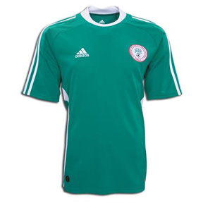 adidas Nigeria Soccer Jersey (Home 2008)