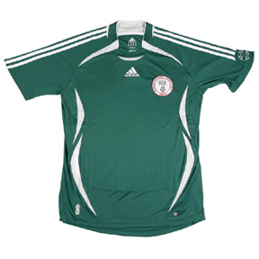 adidas Youth Nigeria Soccer Jersey (Home 2006)