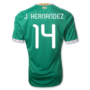 adidas  Mexico Chicharito #14 Soccer Jersey (Home 2011/12)
