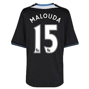 adidas Chelsea Malouda #15 Soccer Jersey (Away 2011/12)