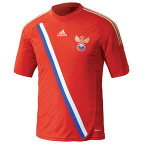 adidas Youth Russia Soccer Jersey (Home 2012/13)