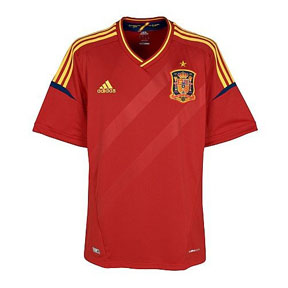 adidas  Spain Soccer Jersey (Home 2012/13)
