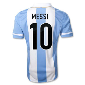 adidas Argentina Lionel Messi #10 Soccer Jersey (Home 2012/13)