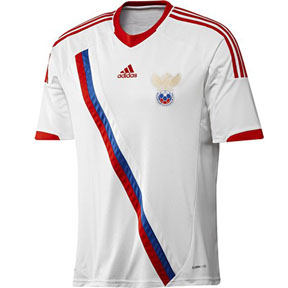 adidas Russia Soccer Jersey (Away 2012/13)
