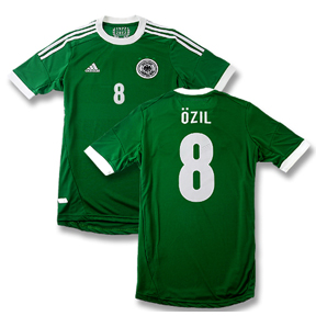 adidas  Germany Ozil #8 Soccer Jersey (Away 2012/13)