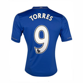 adidas  Chelsea  Torres #9 Soccer Jersey (Home 2012/13)