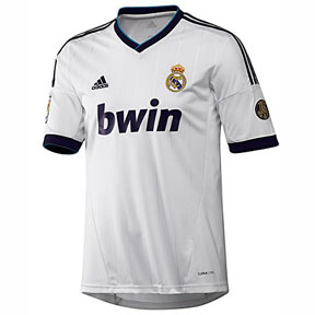 adidas Youth Real Madrid Soccer Jersey (Home 2012/13)