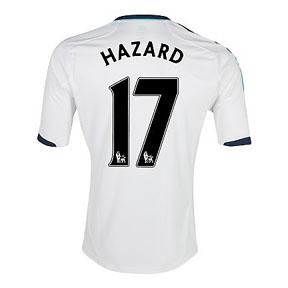 adidas Chelsea Hazard #17 Soccer Jersey (Away 2012/13)