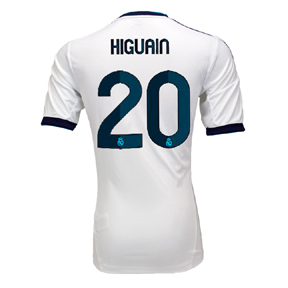 adidas Real Madrid Higuain #20 Soccer Jersey (Home 2012/13)