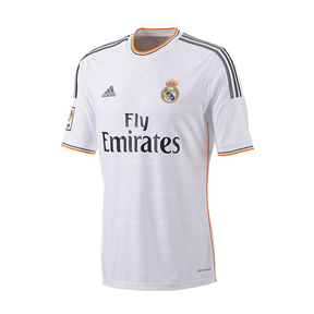 adidas Real Madrid Soccer Jersey (Home 2013/14)