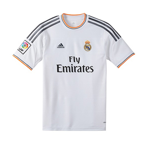 adidas Youth Real Madrid Soccer Jersey (Home 13/14)