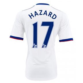 adidas Chelsea Hazard #17 Soccer Jersey (Away 2013/14)