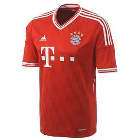 adidas Youth Bayern Munich Soccer Jersey (Home 13/14)