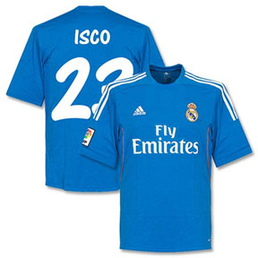 adidas Real Madrid Isco #23 Soccer Jersey (Away 2013/14)