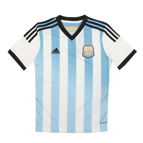 adidas Argentina Soccer Jersey (Home 2014/15)