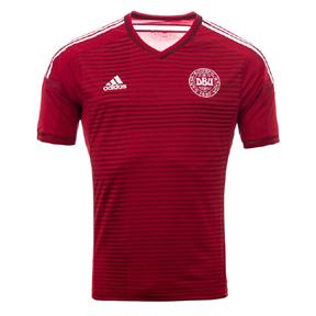 adidas Denmark Soccer Jersey (Home 2014/15)