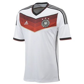 adidas Germany World Cup 2014 Soccer Jersey (Home)