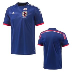 adidas Japan World Cup 2014 Soccer Jersey (Home)