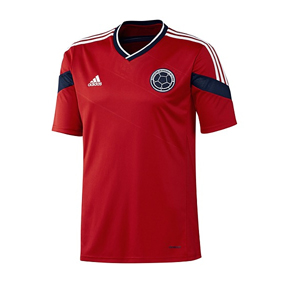 adidas  Colombia World Cup 2014 Soccer Jersey (Away)