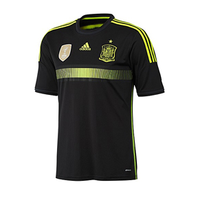 adidas Spain World Cup 2014 Soccer Jersey (Away)
